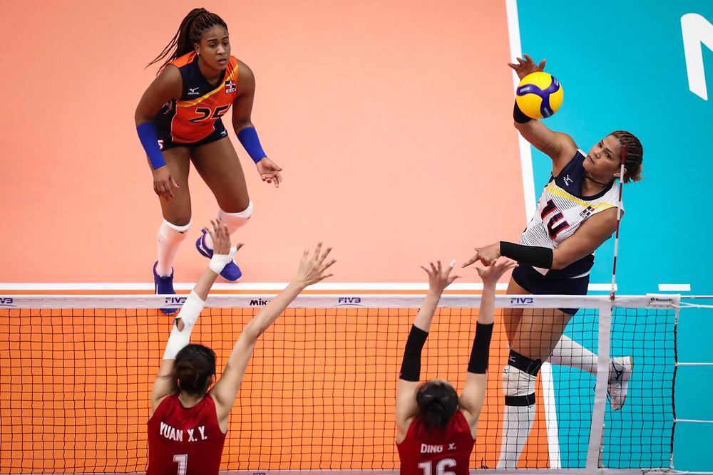 Esta fue la segunda derrota en el torneo de las Reinas del Caribe