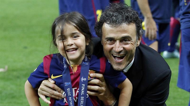 Luis Enrique Martínez ha dado la peor de las noticias que un padre puede dar: su hija Xana, de tan solo nueve años, ha fallecido