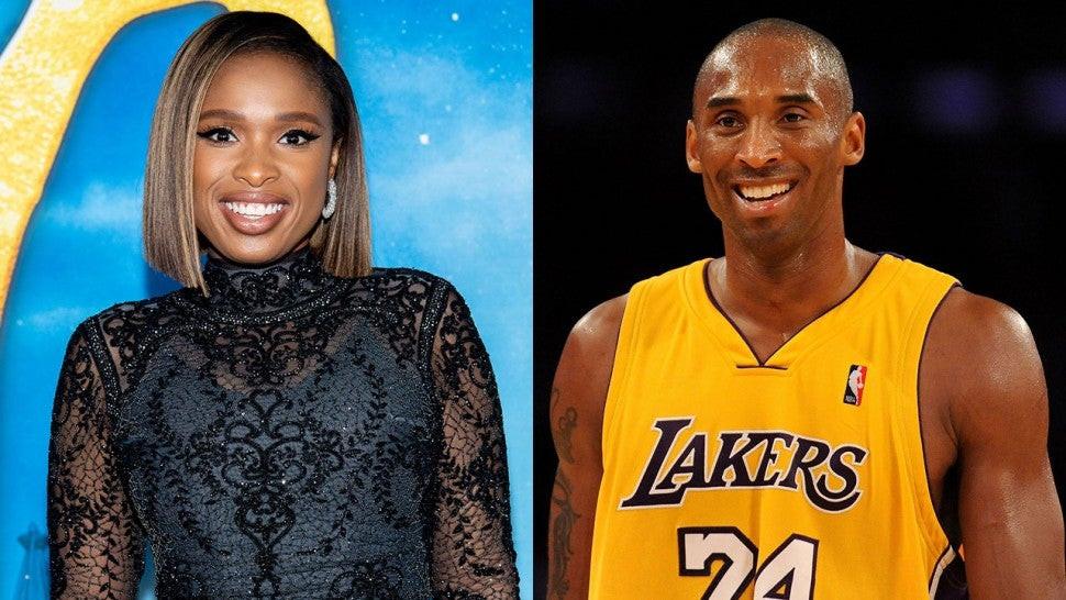 Jennifer Hudson y Kobe Bryant