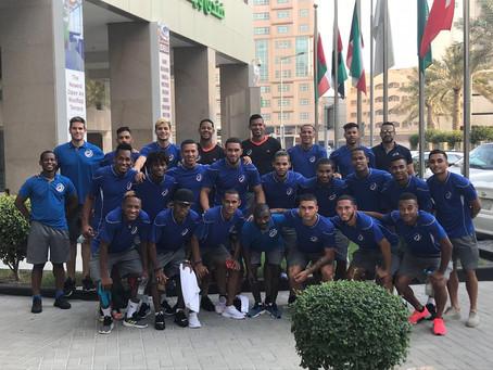 RD, lista para jugar este viernes ante la selección de fútbol de Emiratos Árabes