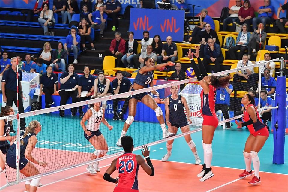 Es la tercera ocasión que la selección dominicana femenina derrota a la de Estados Unidos en una competición de nivel mundial en 19 confrontaciones.
