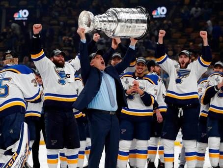 Los Blues de San Luis gana la Copa Stanley de hockey por primera vez en la historia