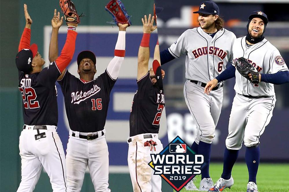 los Astros arrancaron con favoritismo de -235 por encima de los Nacionales