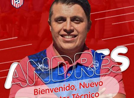 Colombiano Andrés Giovanni García será el DT del Atlético de San Francisco