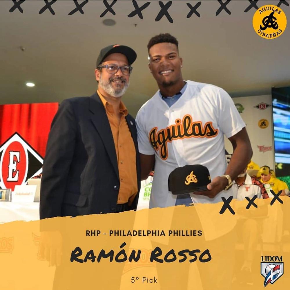 Ramón Rossó con Adriano valdez Rosso