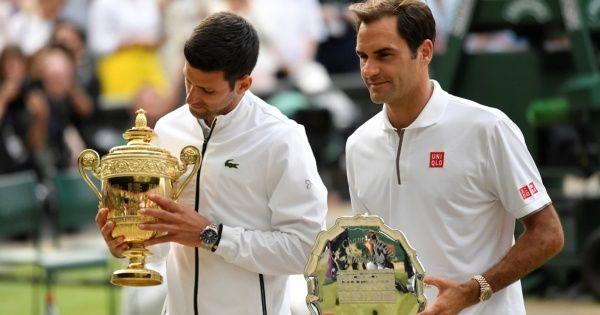 Novak Djokovic volvió a demostrar que es el rival más duro para Roger Federer. Foto: Reuters
