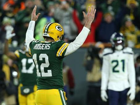 Packers impiden un intento final de remontada para superar a Seahawks en Ronda Divisional.