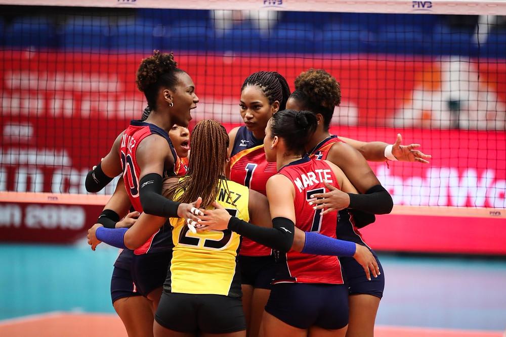 Ahora, las dominicanas colocan su marca positiva en dos victorias y una derrota