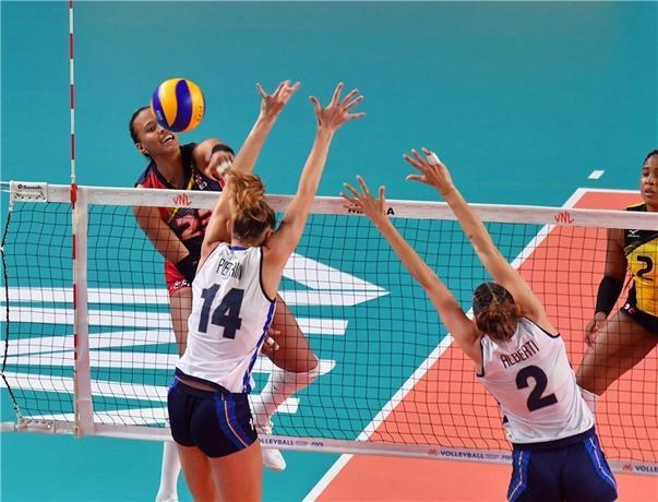 Las anfitriones, numero ocho en el ranking mundial, consiguieron su cuarta victoria al hilo en la Liga de Naciones