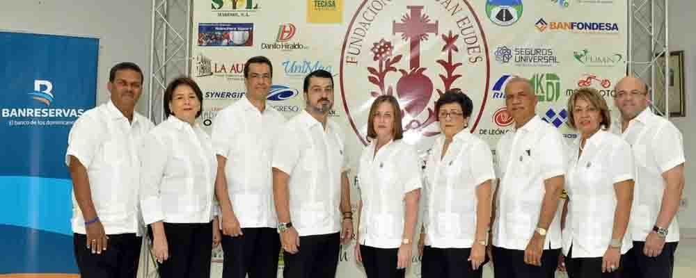 Integrantes de la Fundación San Juan Eudes que organiza el Torneo de Golf benéfico.