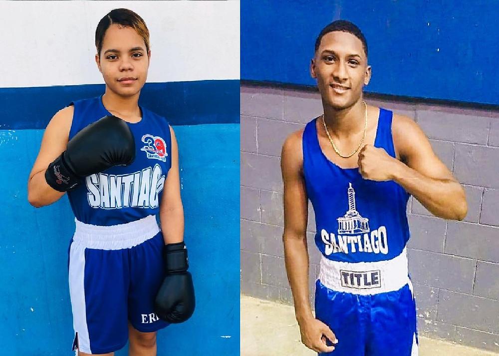 Boxeo: Nicole Félix y Ezequiel Martínez