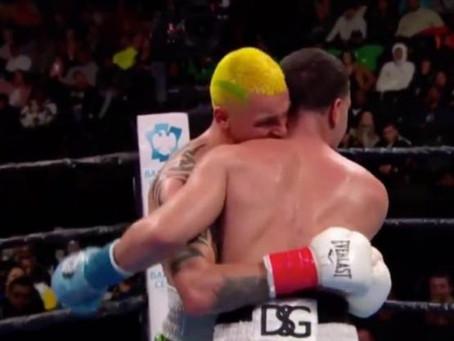 Noticia curiosa. Escándalo en el boxeo con el mordisco a lo Tyson de Ivan Redkach.