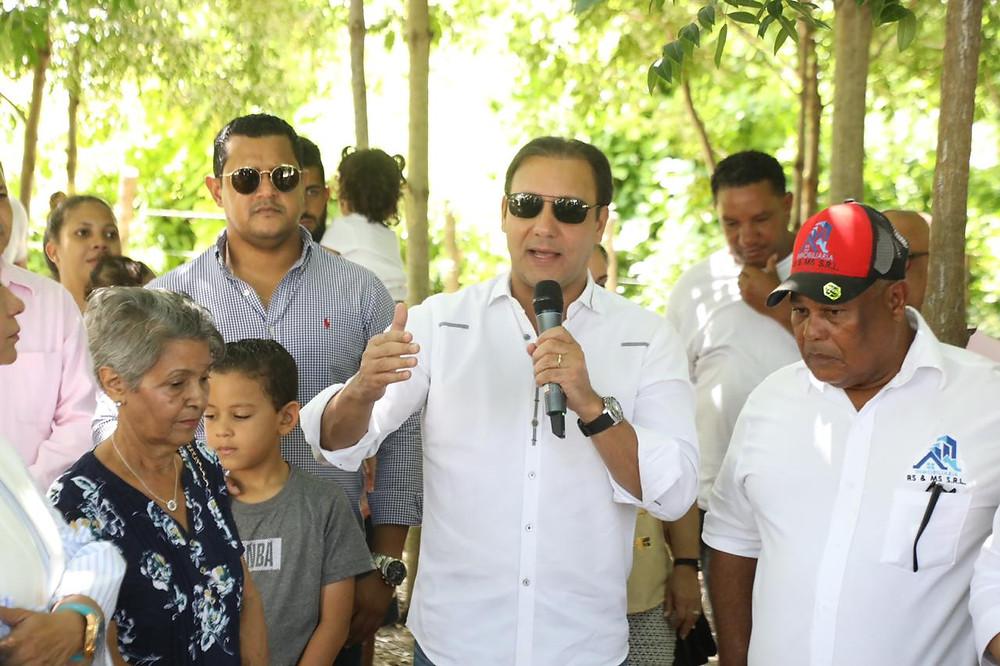 El alcalde Abel Martínez, aseguró que las obras que se ponen en ejecución a favor de esa comunidad cuentan con los fondos disponibles