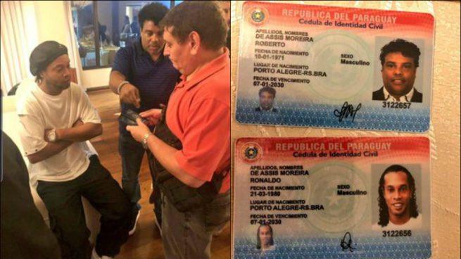 Ronaldinho Gaúcho y su hermano fueron notificados de una investigación que los involucra en Paraguay