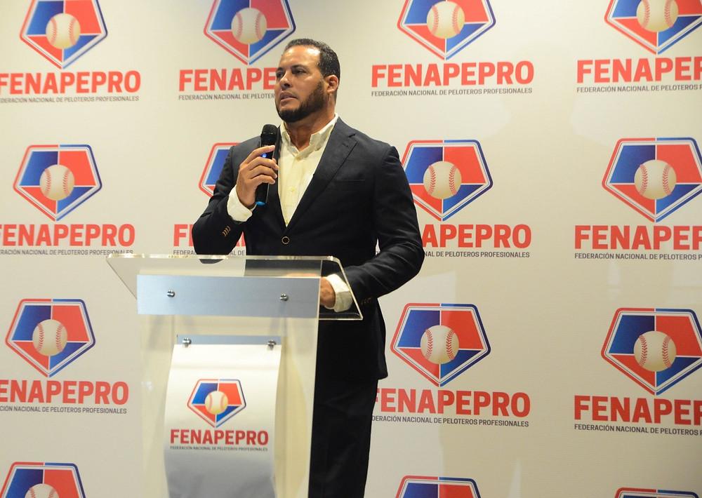 Erick Almonte, presidente de la institución