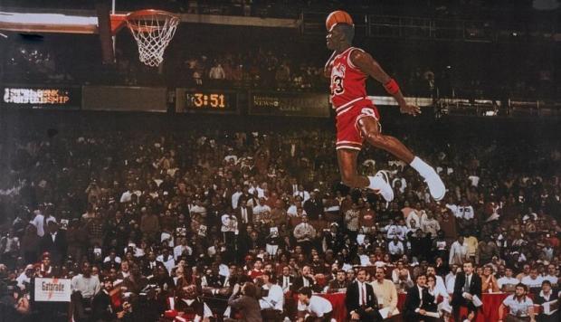 Michael Jordan no sólo destacó por sus increíbles clavadas.