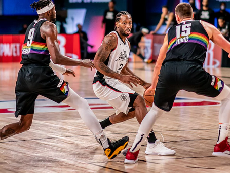 Los Clippers remontan contra los Nuggets de la mano de Leonard y George