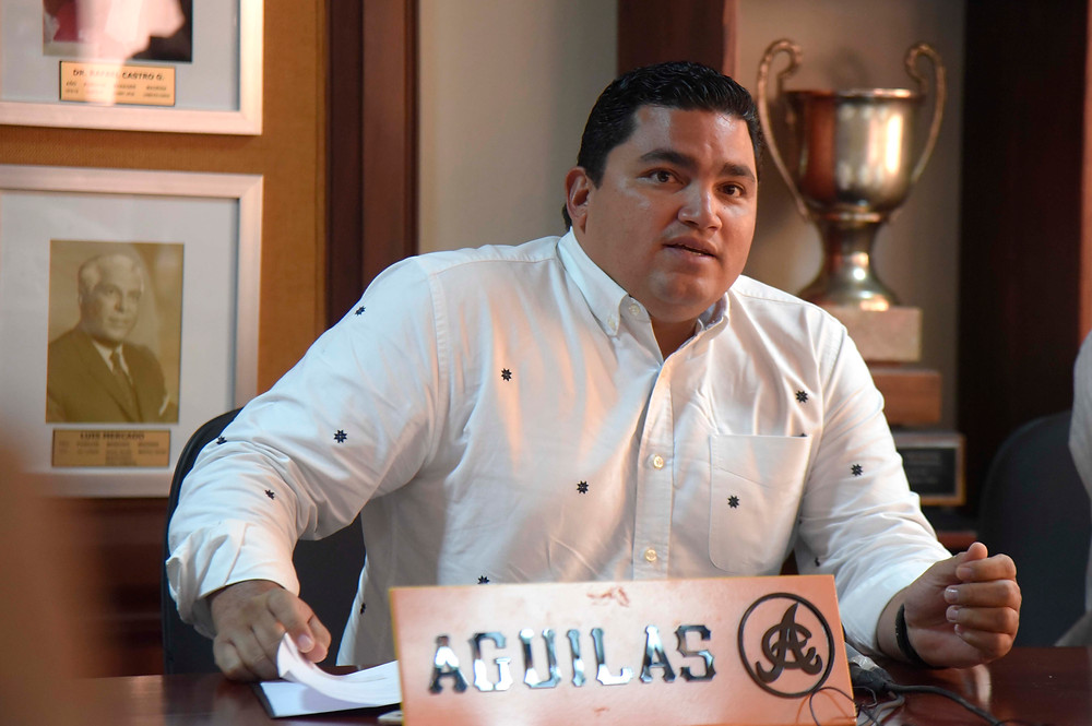 Ángel Ovalles Gerente General del equipo