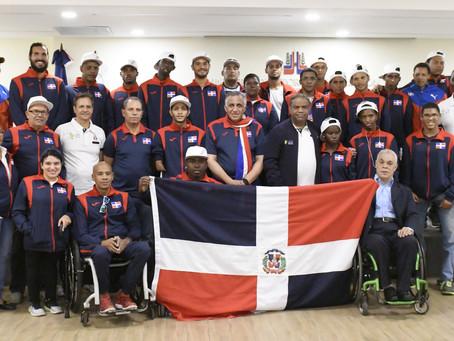 Ministro Danilo Díaz abandera comitiva Parapanamericanos