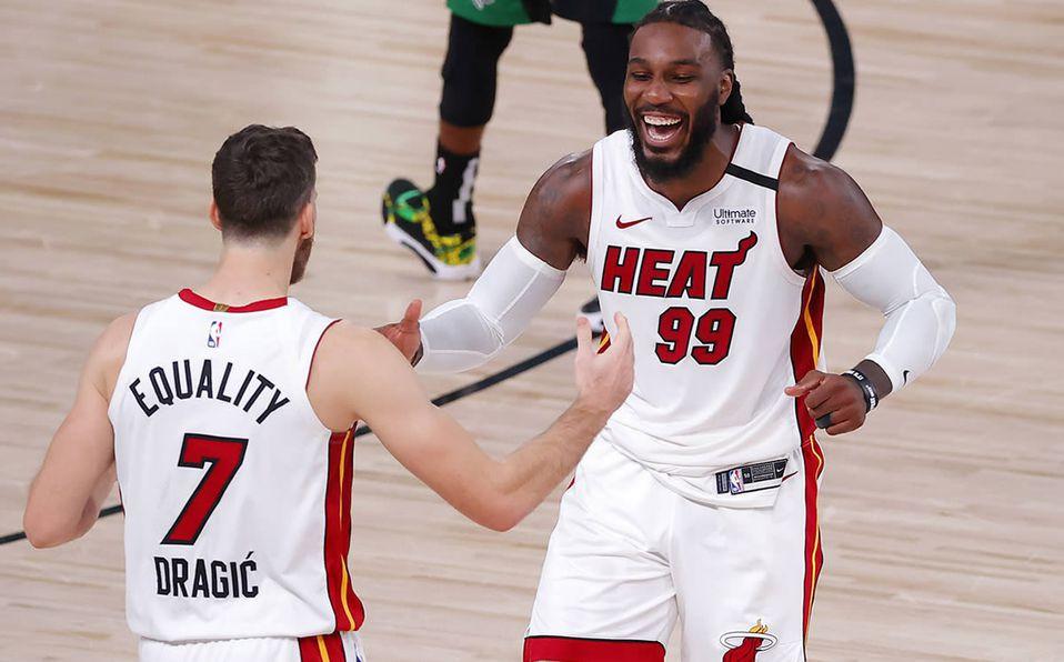 Miami quema a Boston y se pone 2-0 en la final de la Conferencia Este