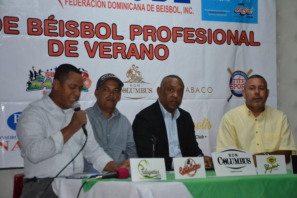 Wilson Silverio, Edison Adames, Juan Nuñez y Ruperro Ruck. Fotos Freddy Caputo