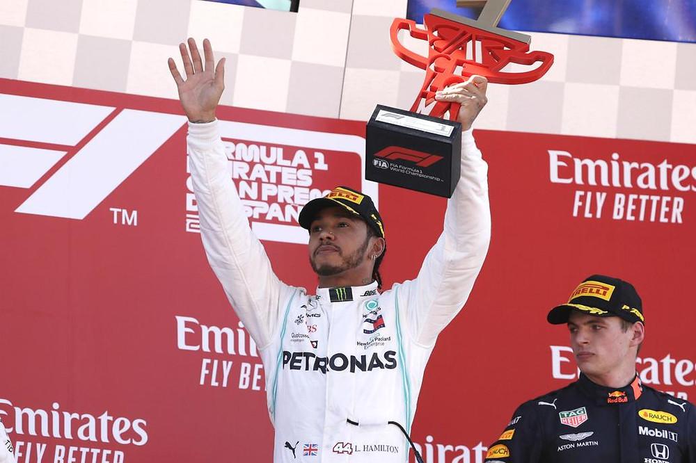 Todo para Hamilton: el británico dominó de punta a punta en Montmeló Fuente: AP