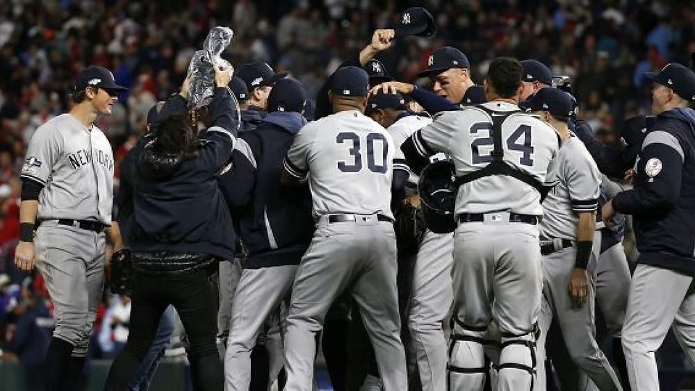 Los New York Yankees doblegaran el lunes 5-1 a los Minnesota Twins y los barrieran de nuevo en playoffs
