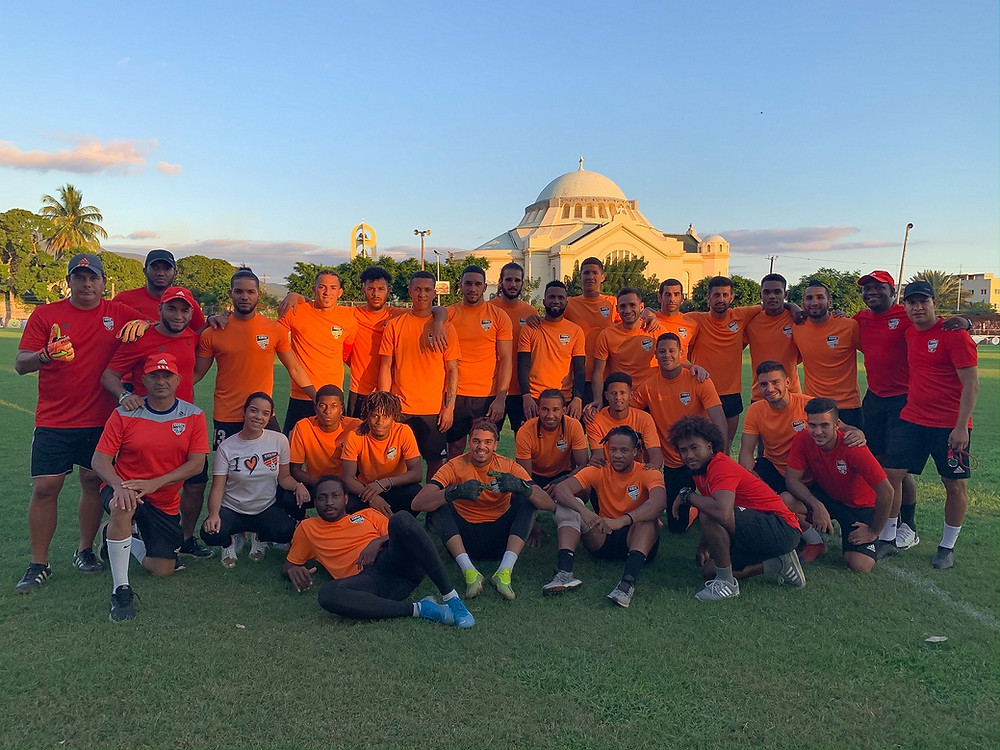El pasado miércoles el equipo Naranja, que representa a la República Dominicana en el evento, igualó 0-0 con el Waterhouse FC, de Jamaica