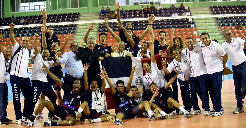 República Dominicana clasifica al Campeonato Mundial Sub-19 de Voleibol
