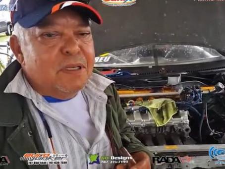 Murió inmortal del automovilismo Adriano Abreu