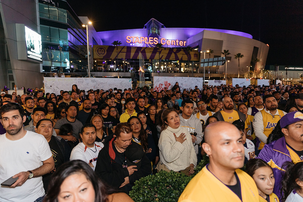 Los Ángeles organizará un memorial el 24 de febrero en el Staples Center
