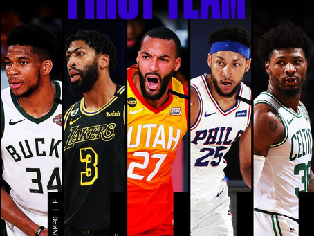 La NBA anuncia los mejores quintetos defensivos de la temporada 2019-20