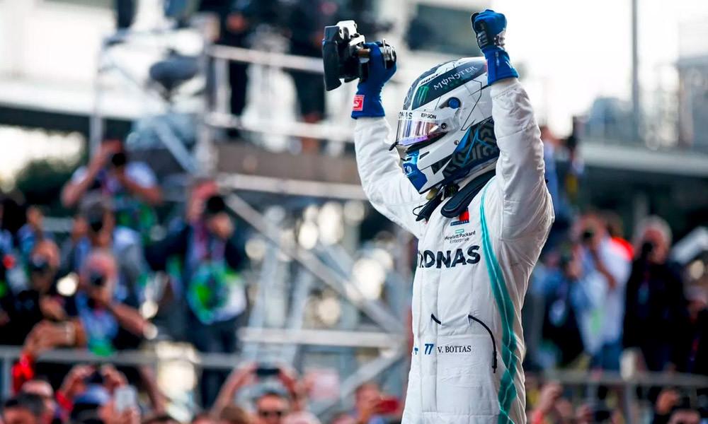 Valtteri Bottas ganó en Bakú