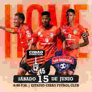 Cibao FC contra San Cristóbal