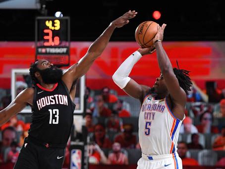 Houston Rockets sufrió, pero ganó a Oklahoma y avanzó a segunda ronda en otro final lleno de drama.