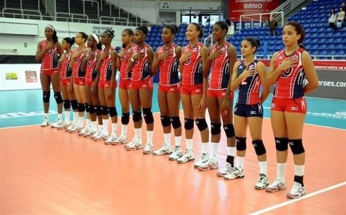 as princesas del Caribe sucumbiendo 3-1 ante  el combinado de Perú