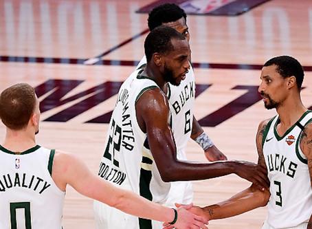 ¡Aún viven! Victoria de Milwaukee Bucks ante Miami Heat por 115-118
