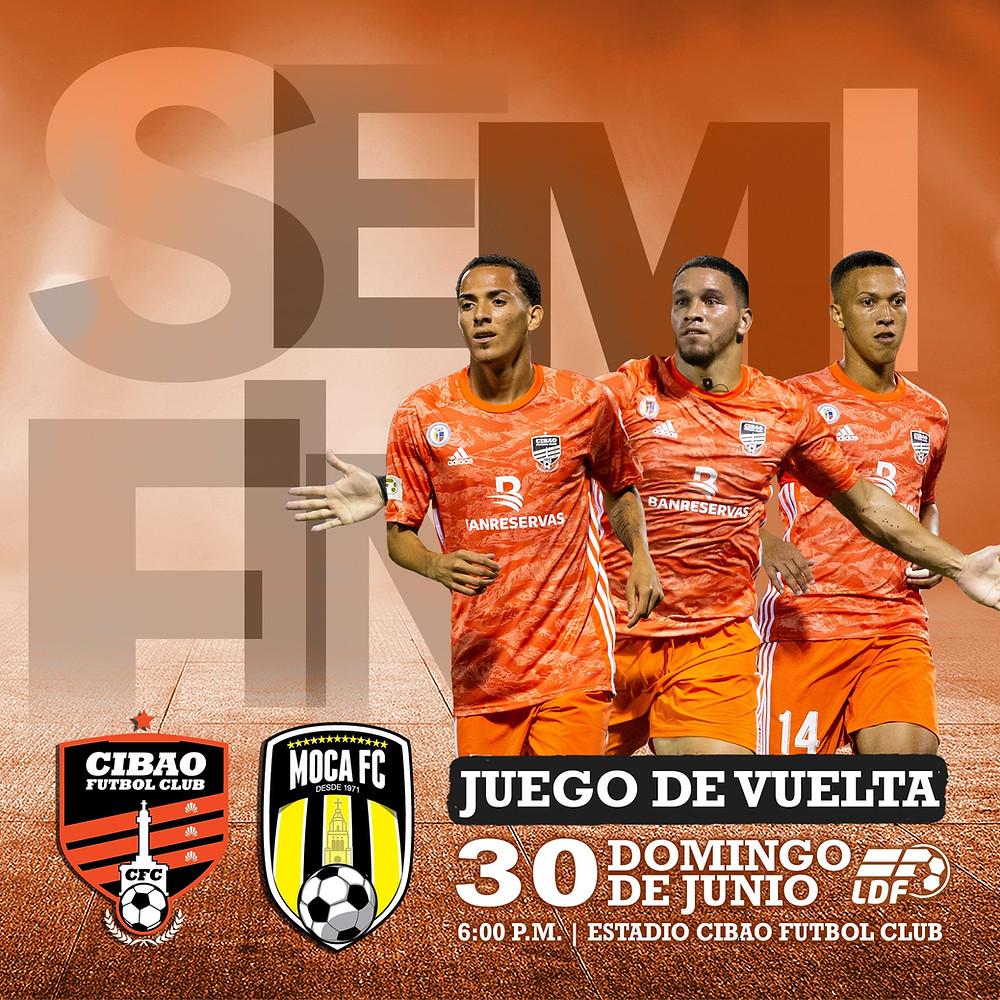 Los goles del pasado sábado fueron anotados por Ismael (Pinta) Díaz y Jean Carlos López