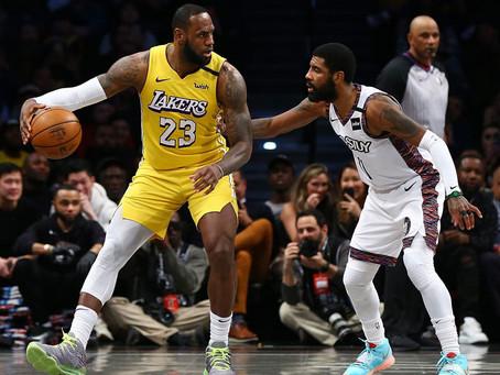 Lakers, a pruebas de COVID-19 tras casos en Nets