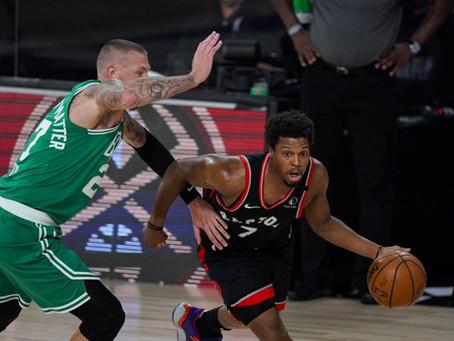 Toronto Raptors se llevó un partido memorable en doble suplementario y forzó el séptimo ante Boston.