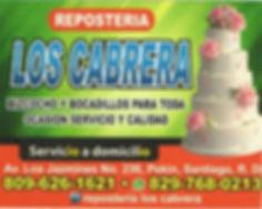 Repostería Los Cabrera