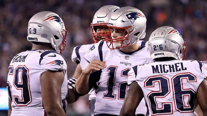 Tom Brady marcó la pauta con una larga ofensiva de anotación