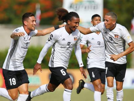 Cibao FC ganó el primero de la semifinal a Moca FC