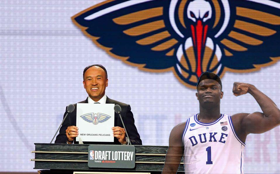El número 1 fue para los Pelicans