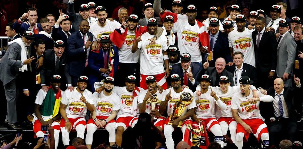 Los Raptors han ganado el primer anillo de su historia, que también es el primero de siempre en la NBA para una franquicia de Canadá,