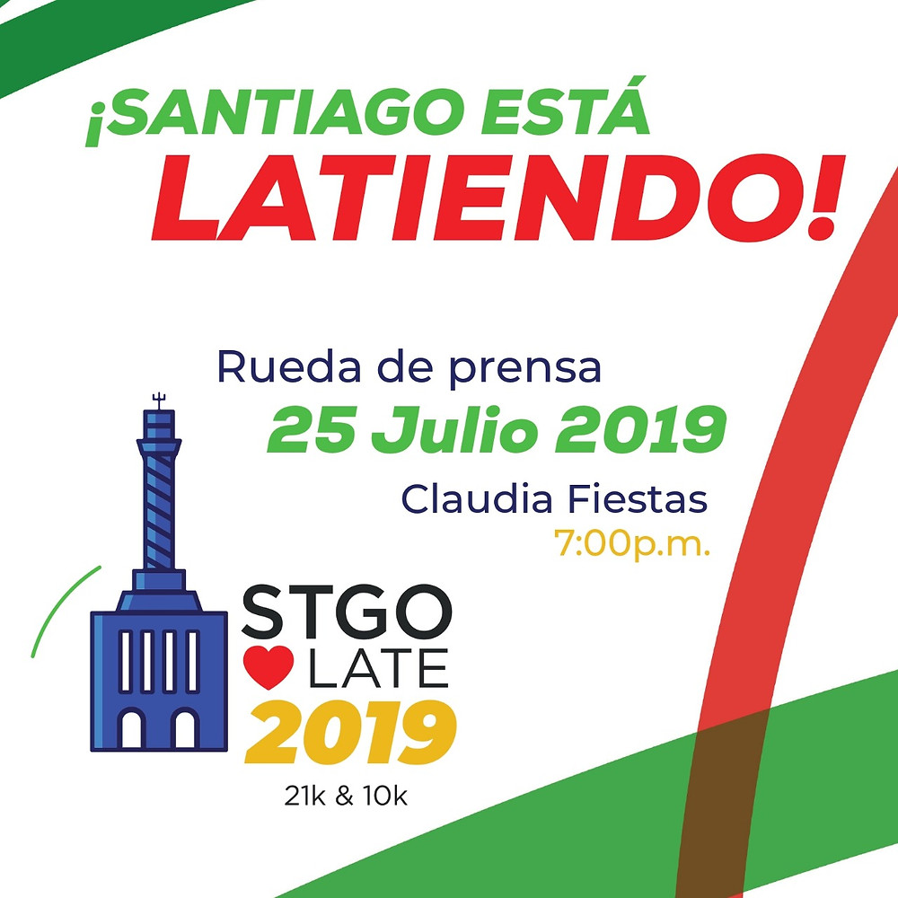Afiche Santiago Late