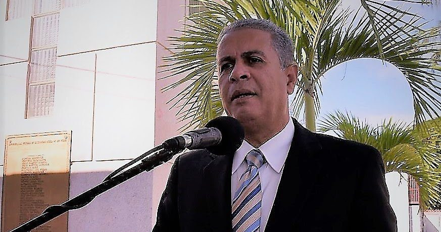 El presidente de la Asociación de Cronistas Deportivos de Santiago (ACDS), periodista Américo Cabrera