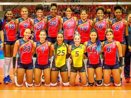 Voleibol RD (Reinas del Caribe) debuta mañana ante Colombia