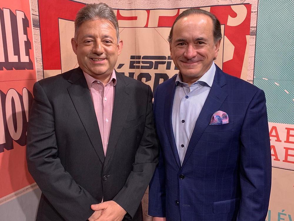 Guillermo Celis y Fernando Alvarez.