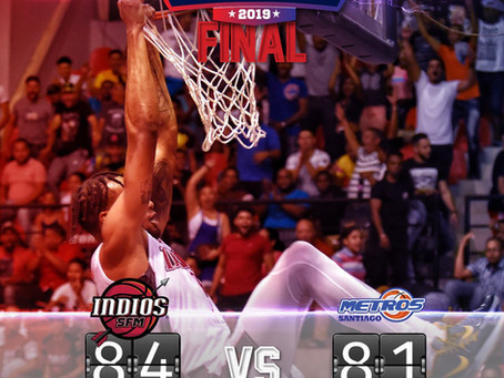 Indios vencen a Metros y delantera serie final Basket LNB
